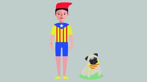 Diada de Cataluña: El kit del 'buen catalán': 'merchandising' y complementos fundamentales