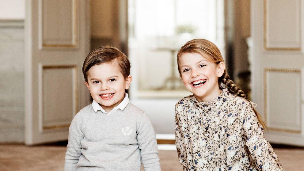 Estelle de Suecia: nuevas fotos oficiales por su 8 cumpleaños, ya recuperada