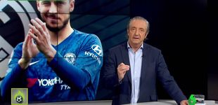 Post de El Madrid no anuncia a Hazard y Pedrerol cumple su promesa
