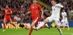 Post de Por qué el amistoso entre Inglaterra y Suiza se verá en blanco y negro