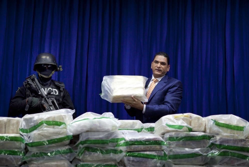 Foto: Droga incautada en Santo Domingo con destino a España. (EFE)