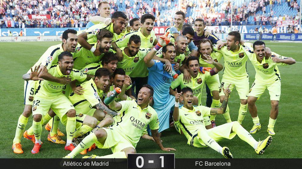Messi quería ser campeón, y se encargó de hacerlo realidad a la primera