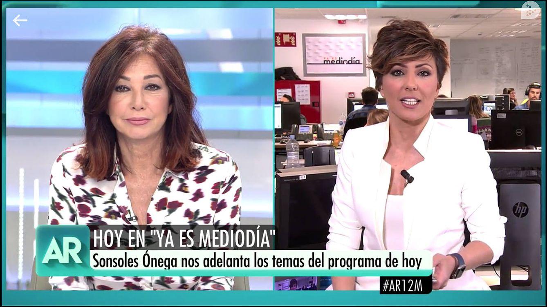 Ataque de risa entre Ana Rosa y Sonsoles Onega a causa de un pene amputado