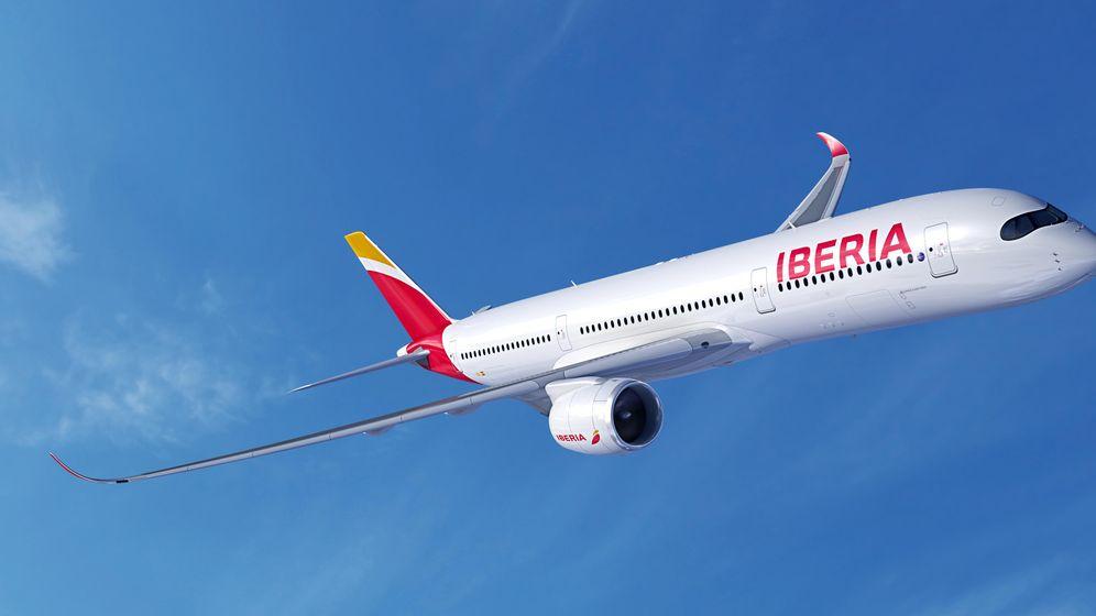 Foto: A350-900. (Iberia)