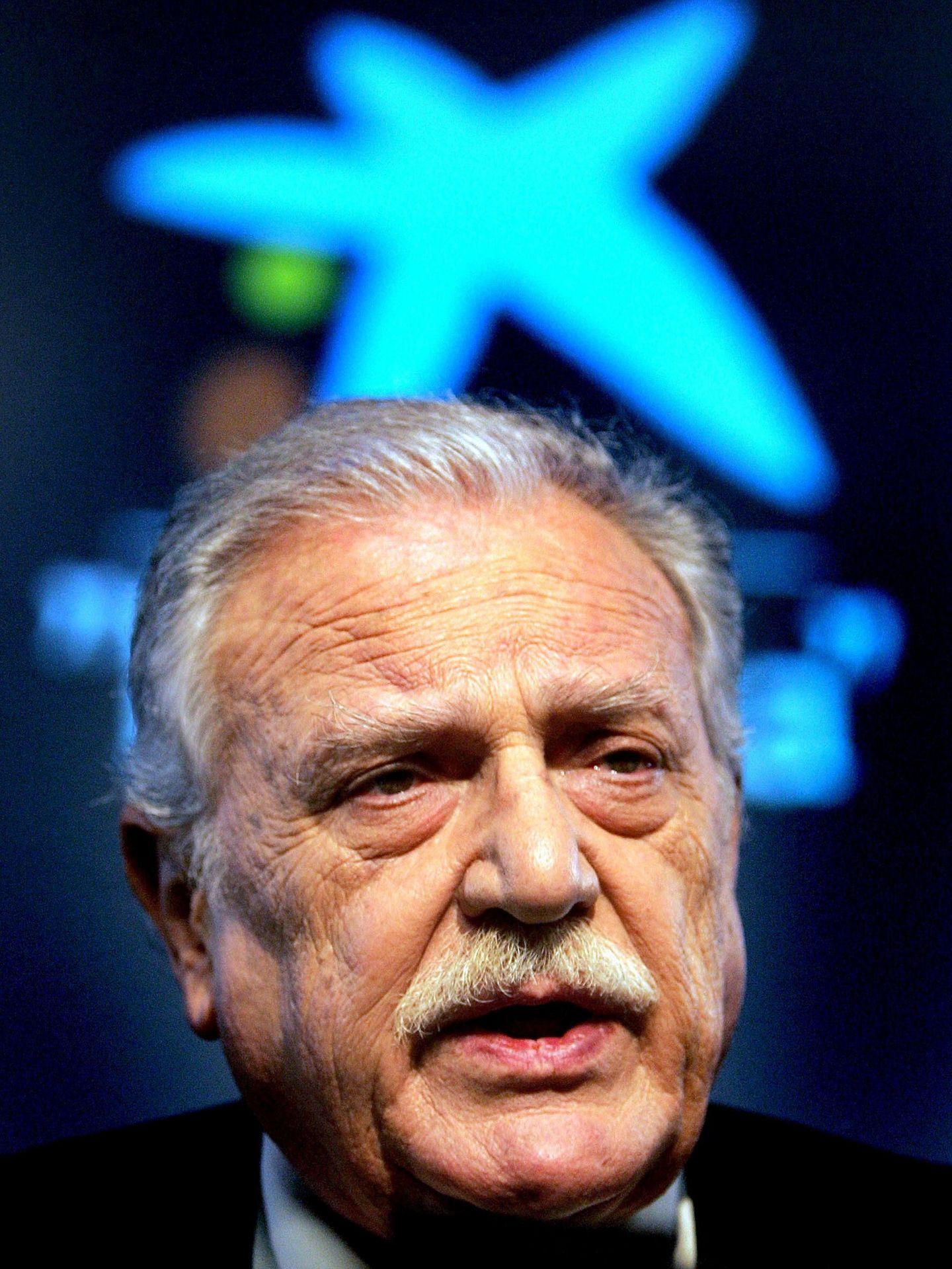 Fotografía de archivo del expresidente de La Caixa Ricard Fornesa, fallecido a los 82 años en 2014. (EFE)