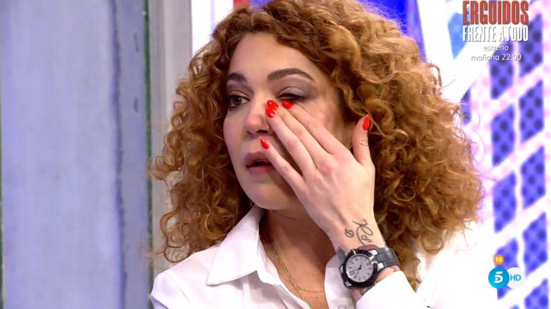 Sofía Cristo se rompe en 'Sábado Deluxe' al hablar de su oscuro pasado con las drogas