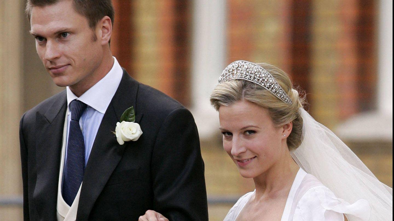Rose y George Gilman en su boda. (Gtres)