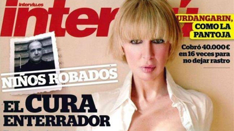 La portada de Aran Aznar para 'Interviú'.