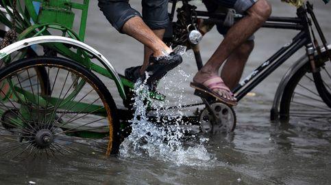 Época de monzones en India