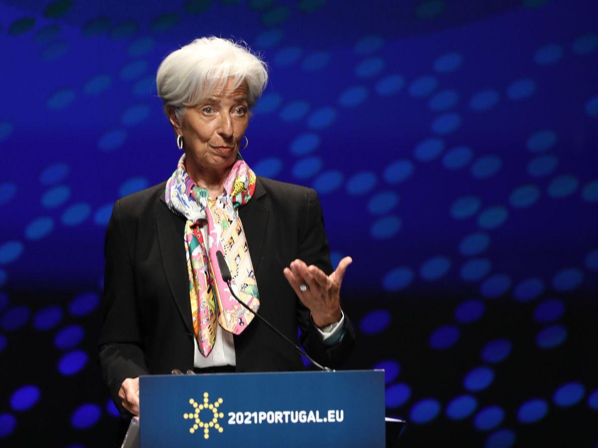 Foto: Christine Lagarde, presidenta del Banco Central Europeo (BCE)