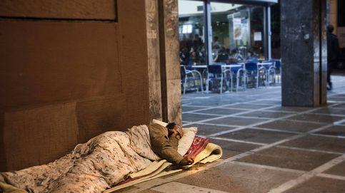 Delitos de ocio: la mitad de los 'sin techo' es víctima de agresiones violentas