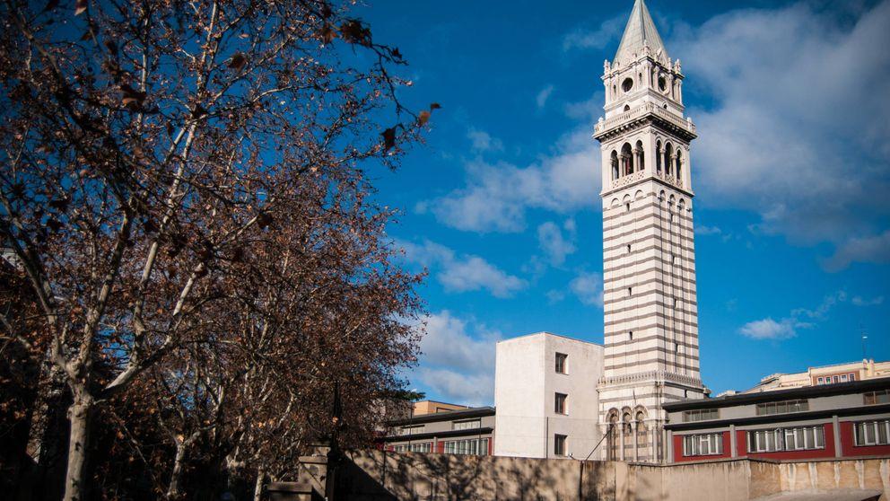 ¿Qué hace esta torre vacía en Atocha? Patrimonio Nacional cagado por palomas