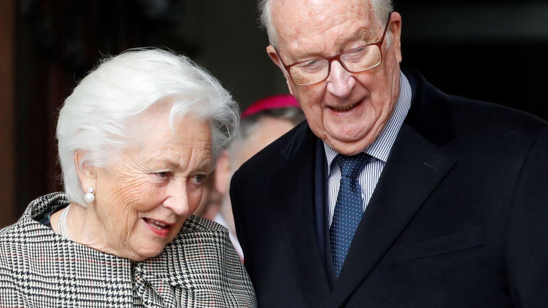 Alberto II de Bélgica y su mujer, la reina emérita Paola, en una imagen de archivo. (EFE)