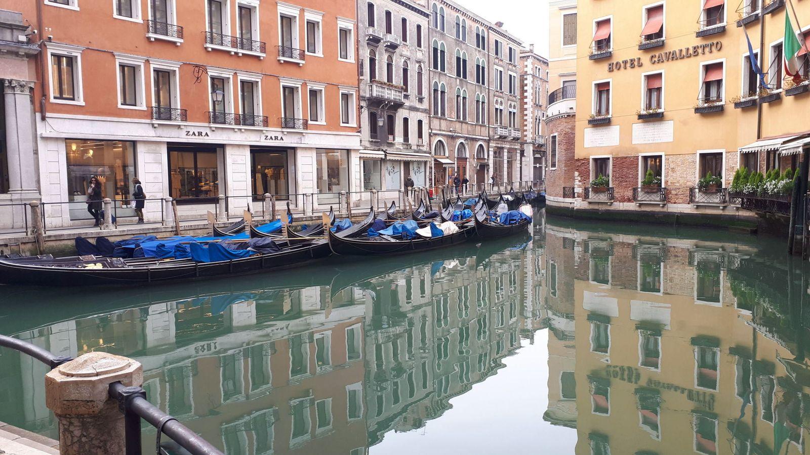 venecia canales limpios
