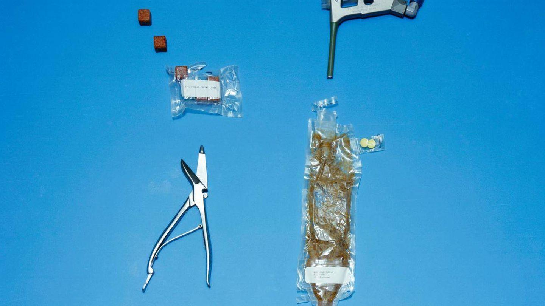 Los cubos y tubos que formaban la comida del programa Gemini. (NASA)
