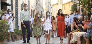 Post de Primera cita de Letizia en Mallorca: estreno en rojo y homenaje a la isla