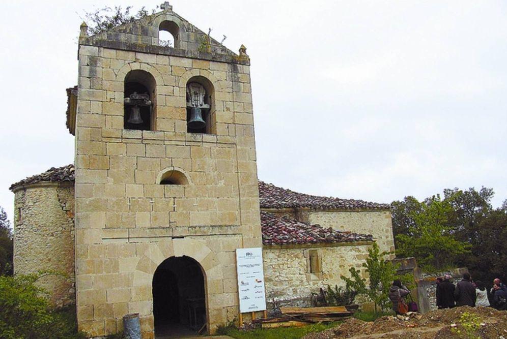 Foto: Iglesia de Santa María de Torrentero, en Burgos.