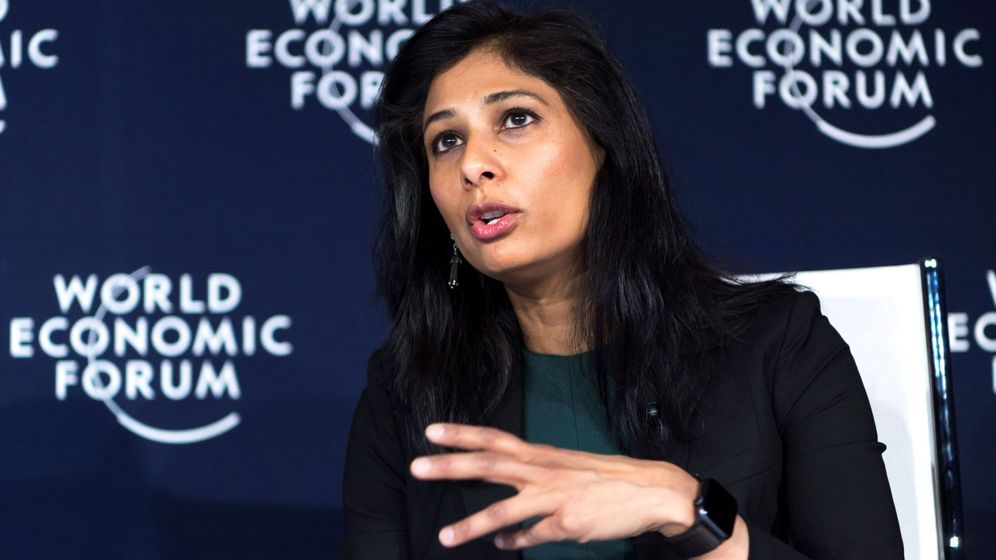 Foto: La economista jefe del Fondo Monetario Internacional (FMI), Gita Gopinath. (EFE)