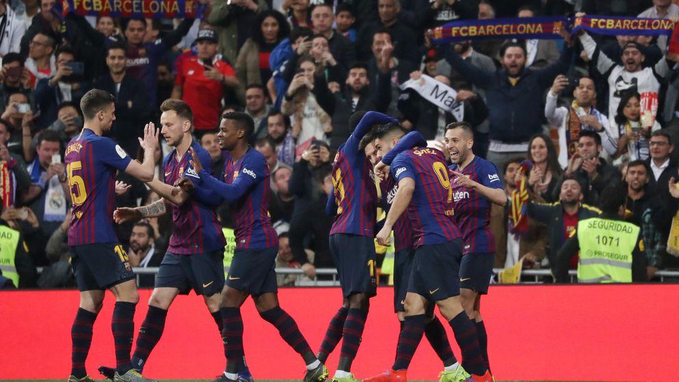 Real Madrid - Barcelona, en Copa del Rey: resultado y goles de la victoria azulgrana
