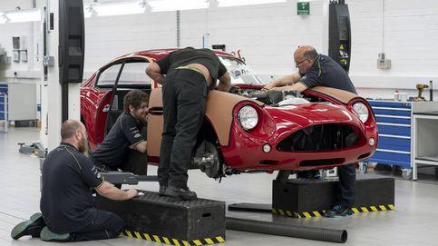 El nuevo DB4 GT Zagato de Aston Martin, un brindis a la artesanía que te costará caro