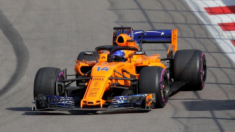 La cruda realidad de Alonso en Rusia: 14º era lo máximo que merecíamos