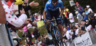 Post de La desgraciada caída de Mikel Landa que le aleja de la pelea por el Tour