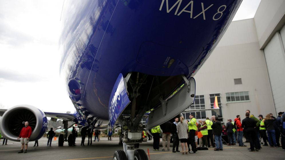 Foto: Modelo Boeing 737 MAX 8 (Reuters)