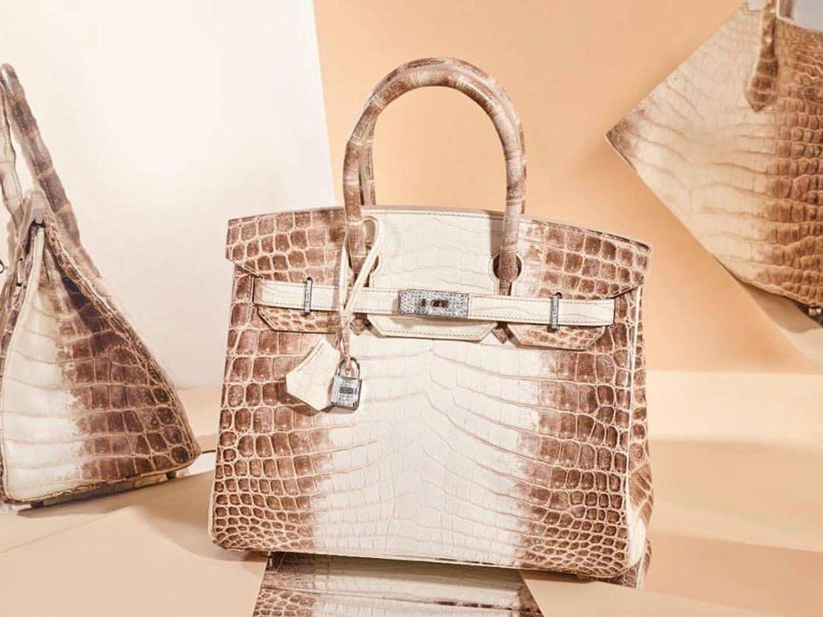 Foto: Uno de los tres bolsos más caros del mundo es de Hermès. (Instagram @christieshandbags)
