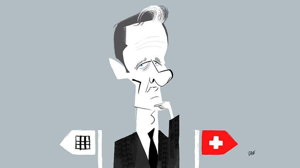 Foto: Iñaki Urdangarin, en una ilustración de Jate.
