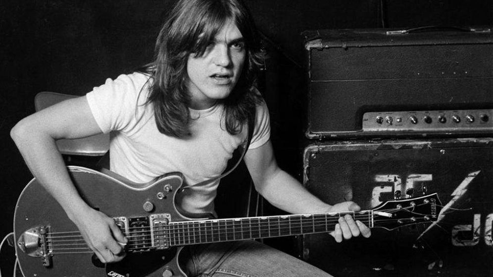 Foto: Malcolm Young. (Facebook AC/DC)
