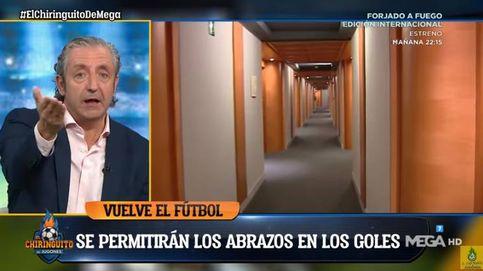 Josep Pedrerol explota en 'El chiringuito' por lo que pasará en el fútbol: ¿A quién estamos tomando el pelo?