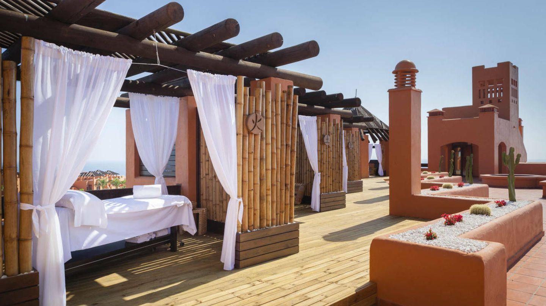 Las cabinas de belleza al aire libre del Royal Hideaway. (Foto: Miguel Paez)