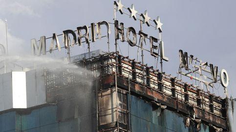 Sofocado el incendio en el hotel Nuevo Madrid, que ha obligado a desalojar a 200 personas