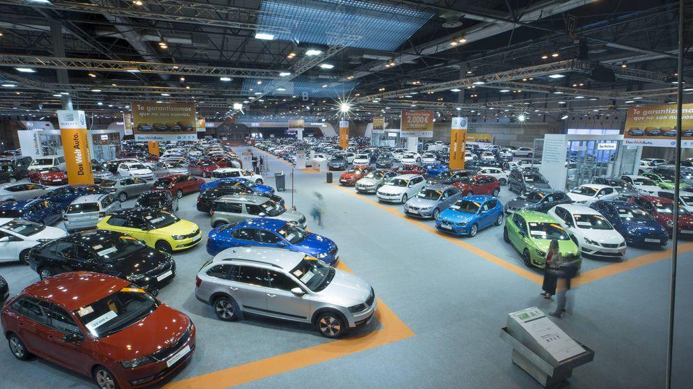 Foto: El grupo Volkswagen, Mercedes, Toyota o el PSA hacen un gran despliegue en Madrid.