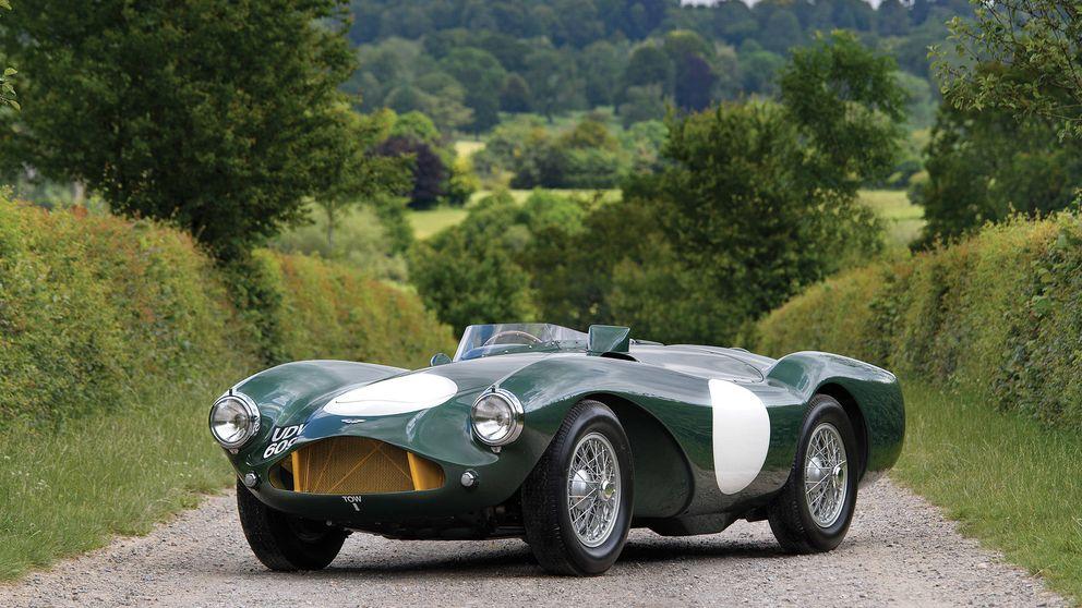 El legendario Aston Martin DB3 de James Bond sale a subasta
