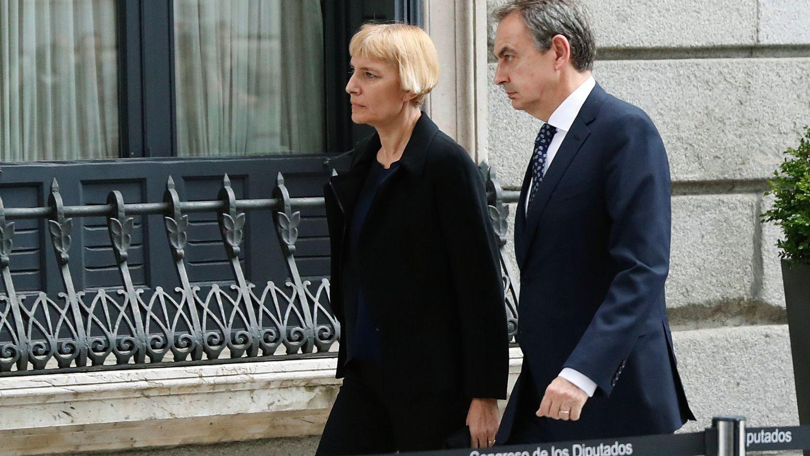 Foto: Sonsoles Espinosa a su llegada al Congreso. (EFE)