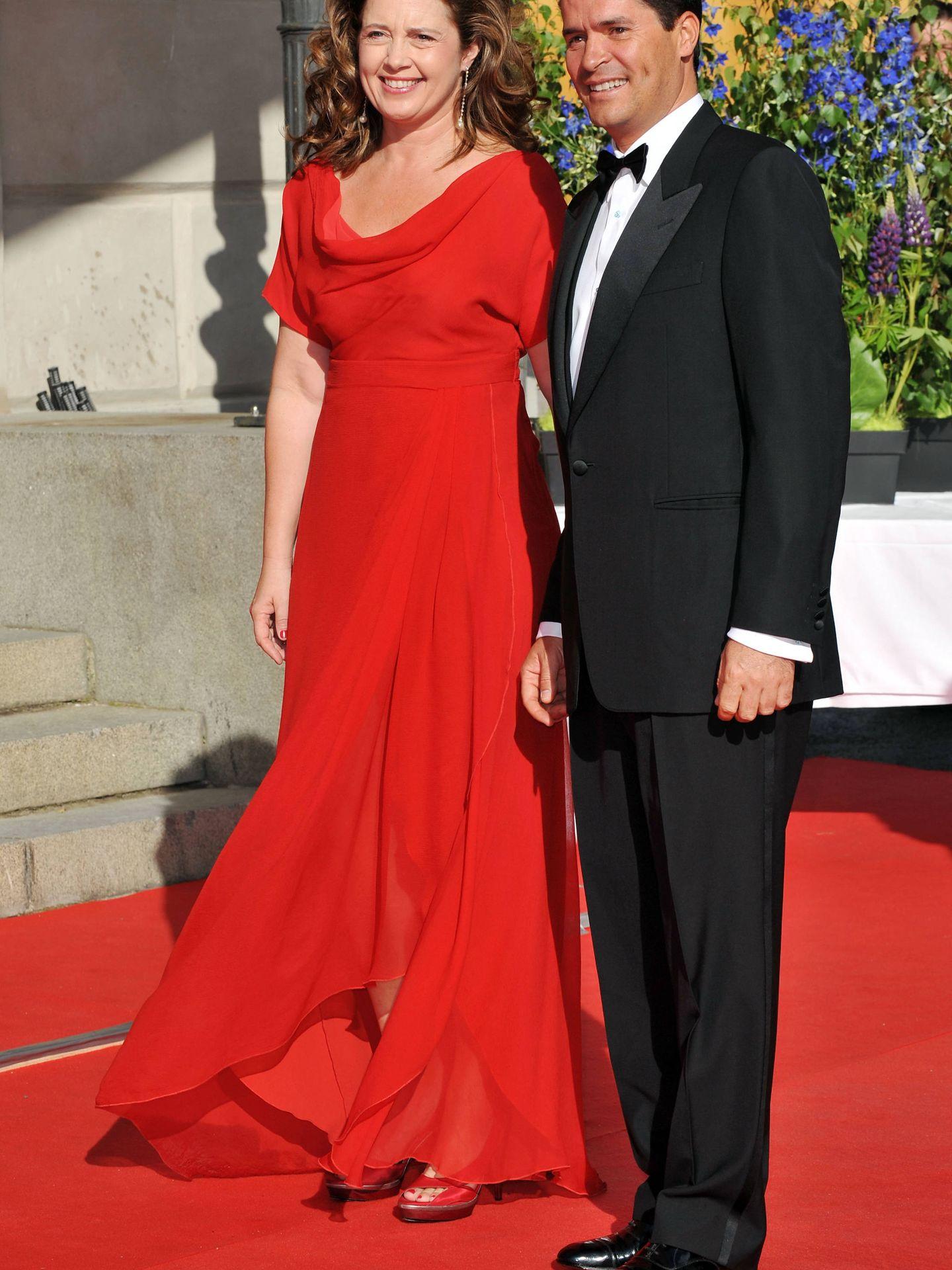 La princesa Alexia y su marido, Carlos Morales. (Getty)