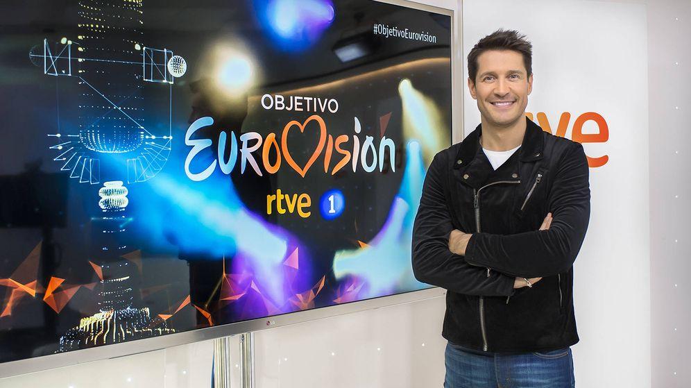 Foto: Jaime Cantizano presentará 'Objetivo Eurovisión' (RTVE)