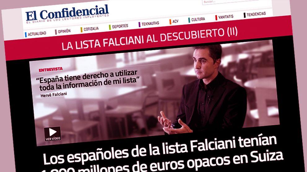 La lista Falciani, la corrupción y 'El Confidencial'
