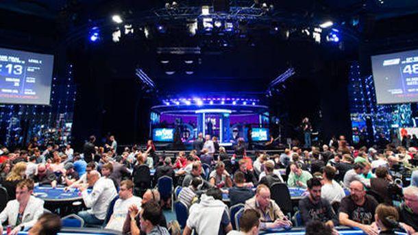 Foto: Una jornada del European Poker Tour.