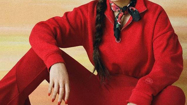 Rosalía fotografiada con parte de su colección por Ben Toms.