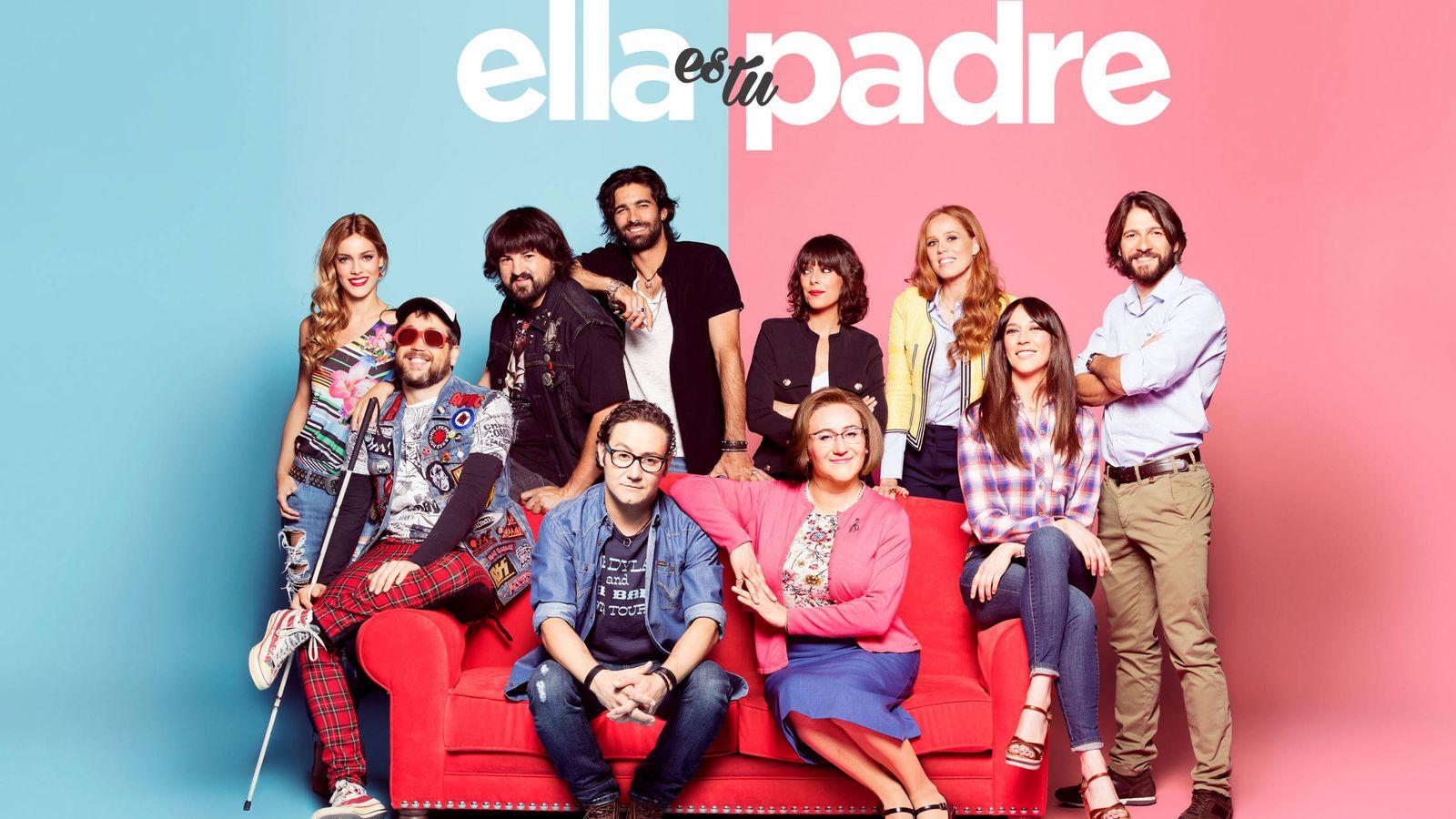 Foto: El elenco de 'Ella es tu padre' al completo. (Mediaset España)