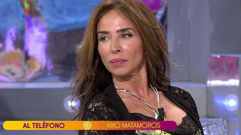 Kiko Matamoros contra María Patiño: Porque chilles no vas a tener la razón