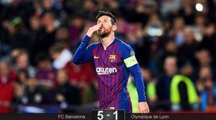 Messi y el ataque de pánico del Barcelona