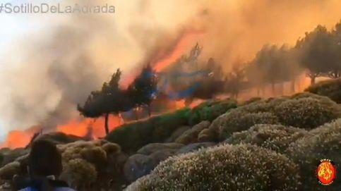 El fuego de Sotillo (Ávila) alcanza la Reserva Natural del Valle de Iruelas