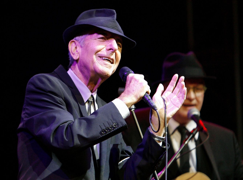 Foto: La trayectoria de Leonard Cohen, en imágenes