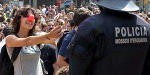 """Puig advierte que la Plaza de Cataluña no seguirá ocupada """"mucho más tiempo"""""""