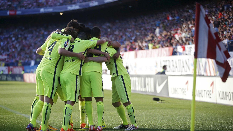 Foto: Así vivimos en directo la penúltima jornada de Liga: el Barça, nuevo campeón de Liga