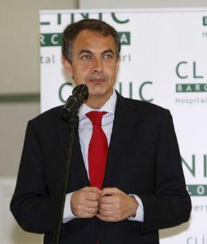 """Zapatero dice que el Rey se encuentra """"muy bien"""""""