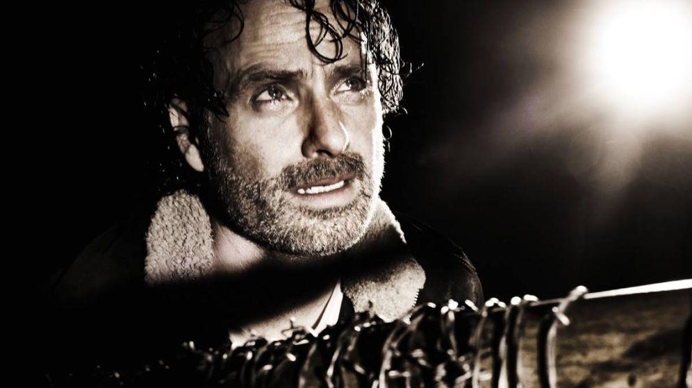 Foto: Rick, sometido al bate de Negan (Imagen: FOX España)
